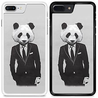 Panda personalizado diseñado caso teléfono impreso para Sony Xperia XZ1 compactos / Mini Panda07 / negro