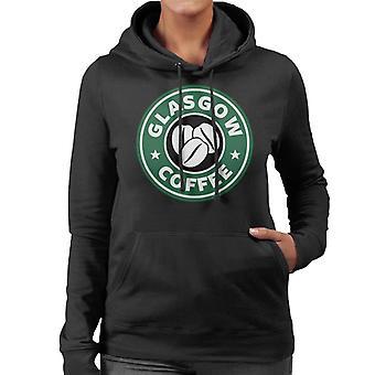 Glasgow kahvi naisten hupullinen pusero