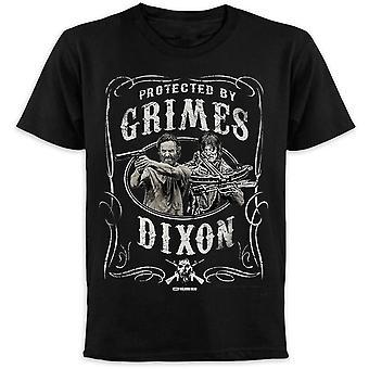 Morti che camminano t-shirt protetto da Grimes & Dixon