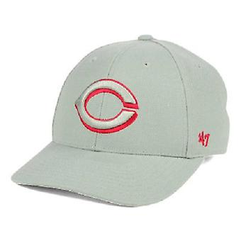 Cincinnati Reds MLB 47 Brand Gray Pop Adjustable Hat