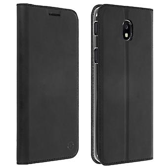 Muvit slim case, flip wallet cover for Samsung Galaxy J5 2017 - Black