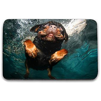 i-Tronixs - Underwater Dog Printed Design Non-Slip Rectangular Mouse Mat for Office / Home / Gaming - 6