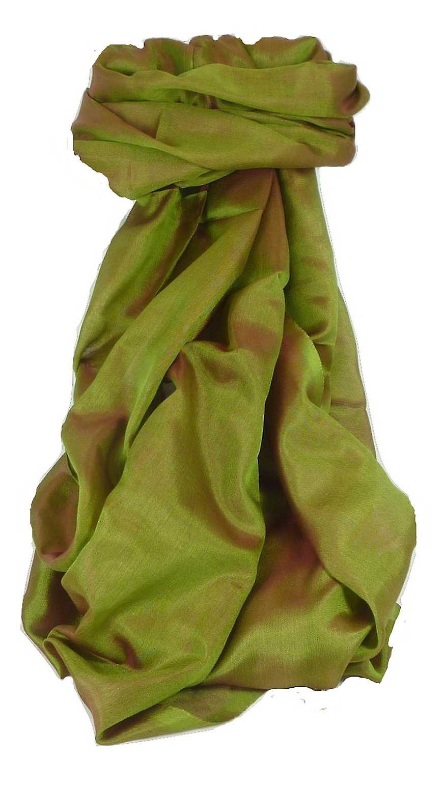 Varanasi Silk Long Scarf Heritage Range Jana 1 Rose by Pashmina & Silk