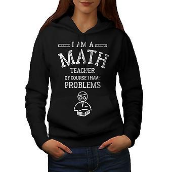 Matematik Öğretmeni İş Kadınlar BlackHoodie   Wellcoda