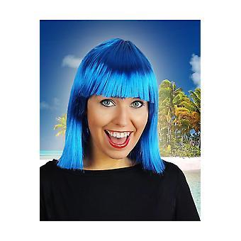 Samantha di parrucca parrucche blu