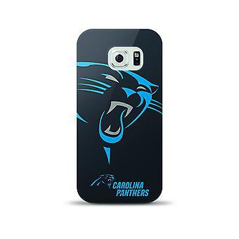Mizco Sports NFL Oversized Snapback TPU Case for Samsung Galaxy S6 (Carolina Panthers)
