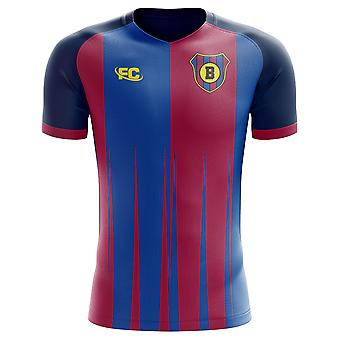 2018-2019 Barcelona Fans Culture Home Concept Shirt - Kids