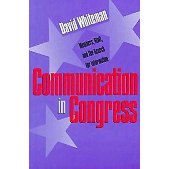 Kommunikation im Kongress - Mitglieder - Personal und die Suche nach Informa