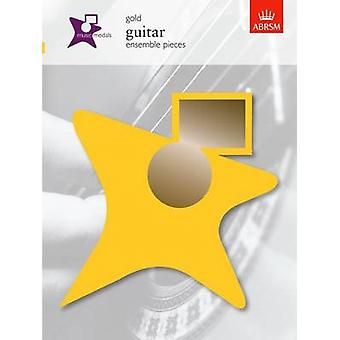 Music Medals Gold Guitar Ensemble Pieces by ABRSM - 9781860965128 Book
