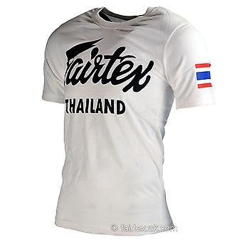 Fairtex Thaïlande T Shirt blanc