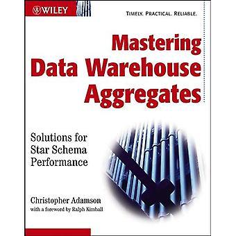 Masterizzazione dati Warehouse aggrega: Soluzioni per prestazioni di Schema a stella