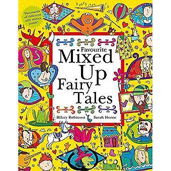 Favori mêlé de contes de fées: Split-Page livre (mêlé de série)