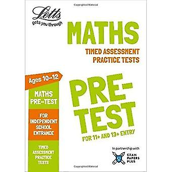 Letts Common Entrance Success - Letts Maths Pre-test Practice Tests: Timed Assessment Practice Tests (Letts Common Entrance Success)