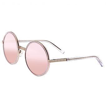 Bertha Riley polarizado gafas de sol - plata/rosa