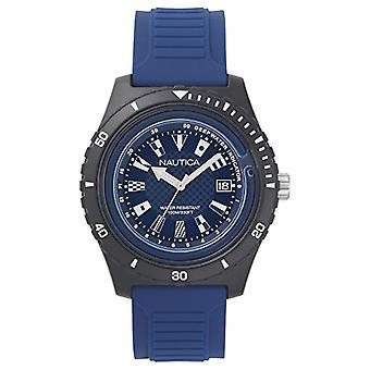 Nautica Analogueico Watch quartz men with Silicone strap NAPIBZ008