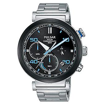 Pulsar Solar Chronograph Watch Man with stainless steel strap PZ5065X1