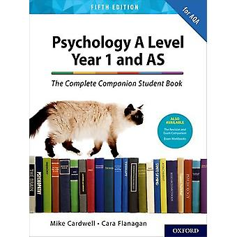 The Complete Companions for AQA A Level Psychology 5th Edition - 16-18