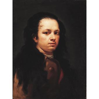 Zelfportret, Francisco Goya, 58x44cm