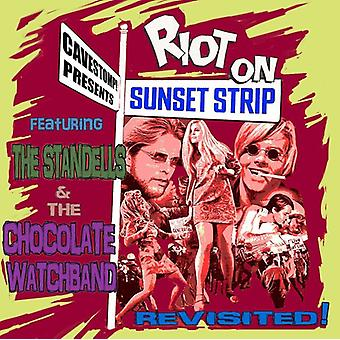 Standells & Chocolate Watchband - Riot on the Sunset Strip Revisited [CD] USA import