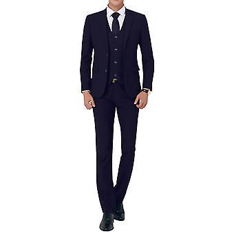 Allthemen Männer 3-teiliger Anzug Hochzeit Smoking Slim Fit