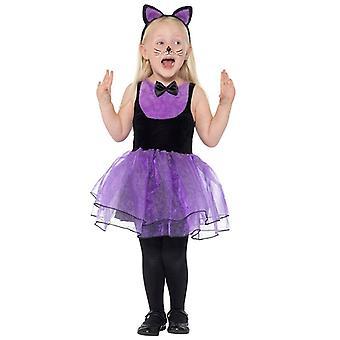 CAT infantil niño Gato del traje del carnaval