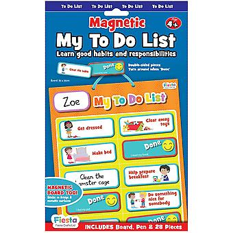 Fiesta Crafts Magnetic My To Do List