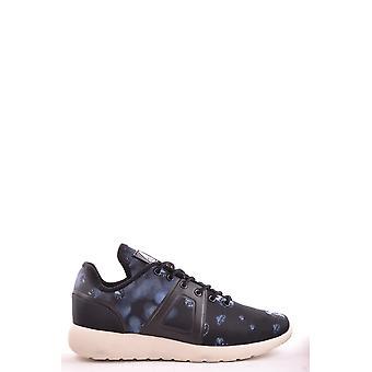 Asfvlt Ezbc205006 Mænd's Black Fabric Sneakers