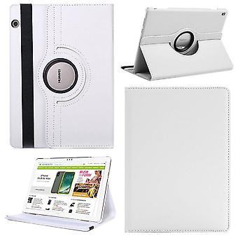 עבור Huawei MediaPad M5 Lite 10.1 לייט מקרה מקרה מקרה כיסוי הגנה לבנה חדש