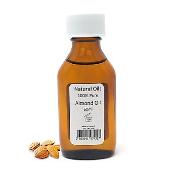 Natural Oils - Almond Oil 100% Pure - 60ML