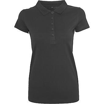 Cotton Addict Womens Cotton Jersey Short Sleeve Polo Shirt