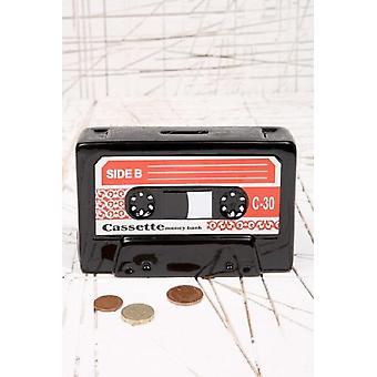 Keramische cassette Money Bank