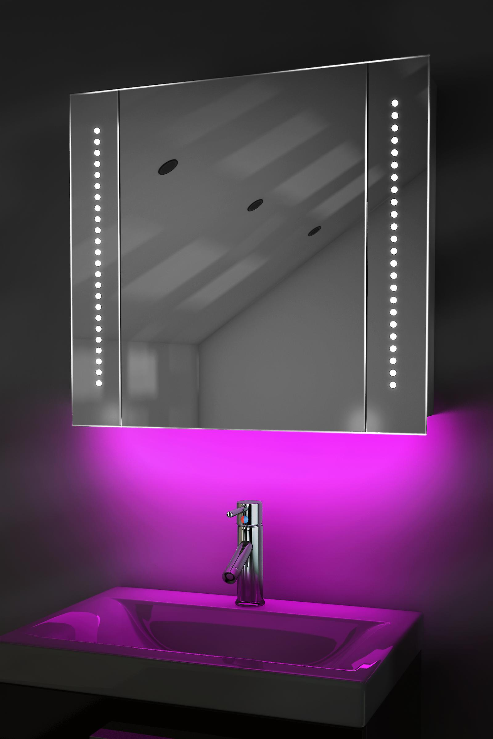 Ambient Mirror Cabinet With Sensor & Internal Shaver K18P