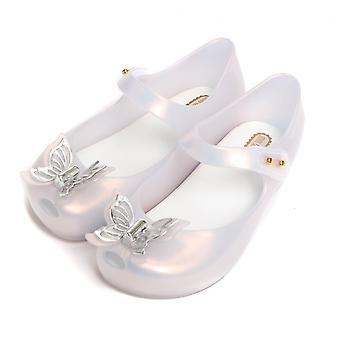 Melissa Shoes Mini Melissa Ultragirl Butterfly Shoe, Frost