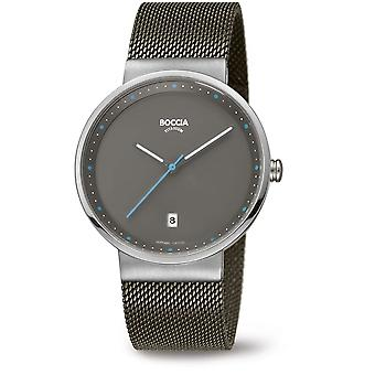 Boccia Titanium 3615-01 Miesten Watch