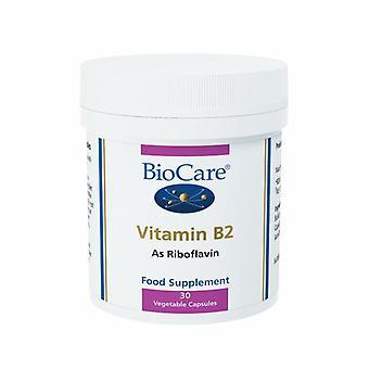 BioCare Vitamin B2 Vegicaps 30 (52430)