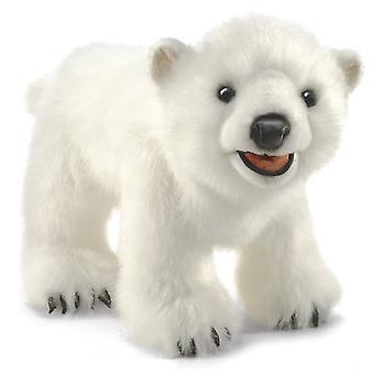 Hand Puppet - Folkmanis - Polar Bear Cub New Toys Soft Doll Plush 3041