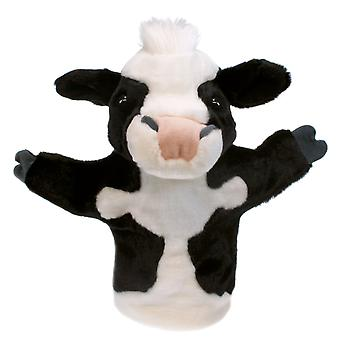 Hand Puppet - CarPets Glove - Cow Soft Doll Plush PC008009