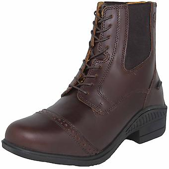 Shires Moretta Adults Raffaele Lace Paddock Boot - Brown