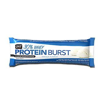 QNT Protein Burst Bar & Energy Boost Top Up Snack Vanilla 12 X 70g