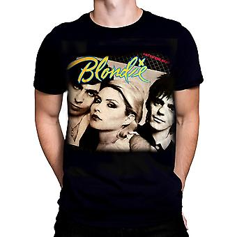 Born2rock-Blondie eten op de beat-mannen ' s t-shirt