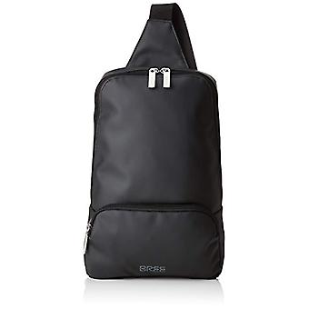 Bree 83900721 Unisex Messenger Bag ? Adult Black (Black) 32x8.5x21 cm (B x H x T)