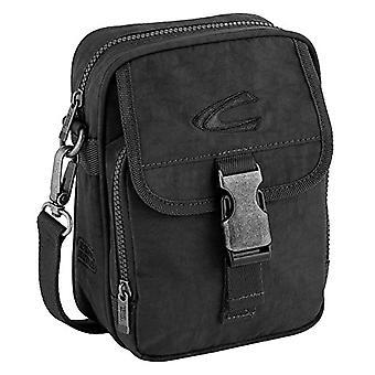 camel active Umh?ngetasche klein B00 Journey Bag Messenger 22 cm Black (Schwarz)