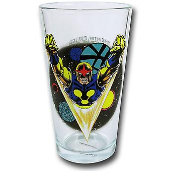 Nova klar Pint Glas