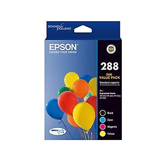 Epson 288 4 Set Colour Ink Pack