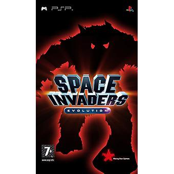 Space Invaders evolution (PSP)-fabriek verzegeld