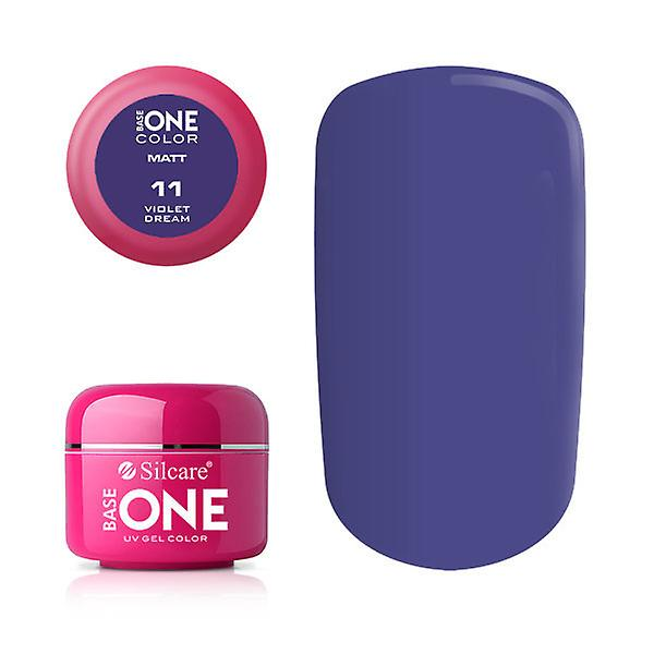 Base en-Matt-Violet drøm 5G UV gel