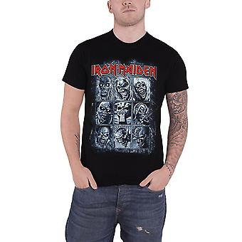 Iron Maiden T camisa nove Eddies montagem assassinos logotipo oficial Mens novo preto
