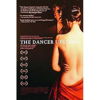 راقصة في الطابق العلوي (مزدوجة من جانب العادية) ملصق السينما الأصلي