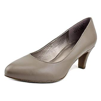 ARRAY Womens Rose Leather Pointed Toe Classic Pumps