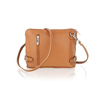 """9.0"""" Cross Body Bag Central Zip Compartment Removeable Shoulder Strap"""